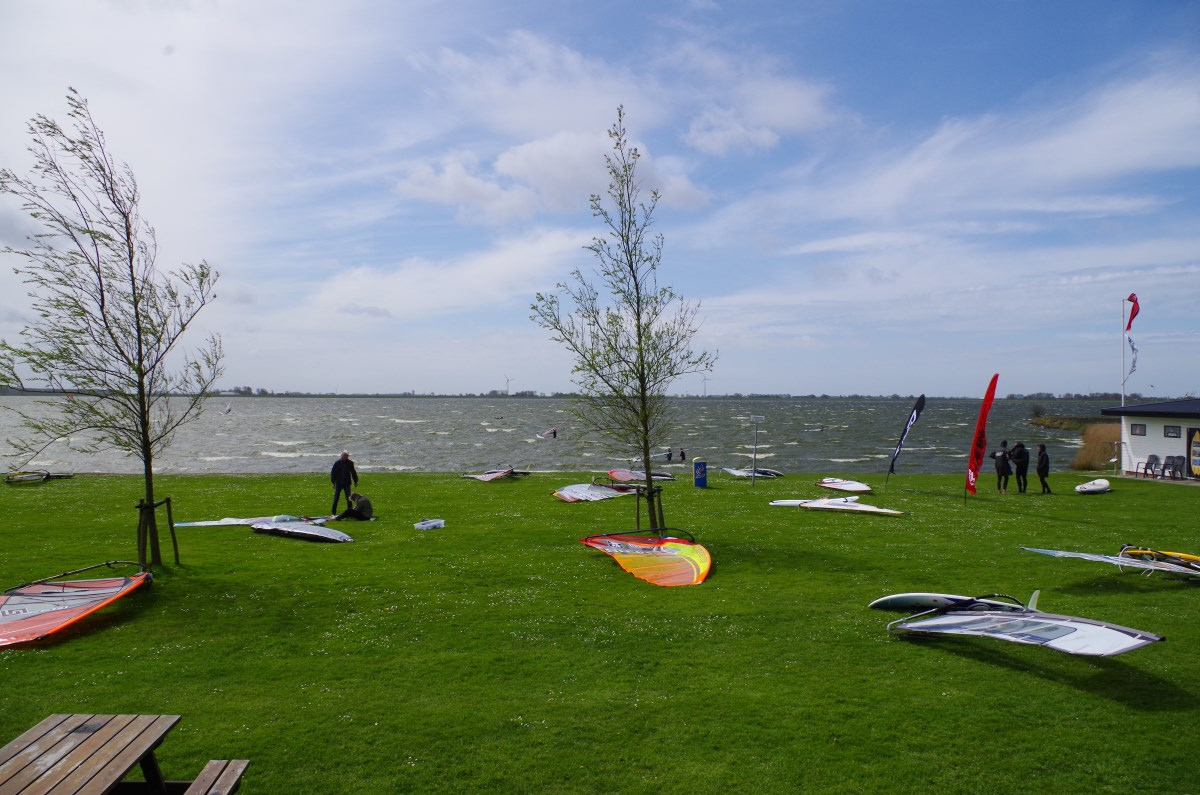 Amstelmeer High Wind Fin Testing