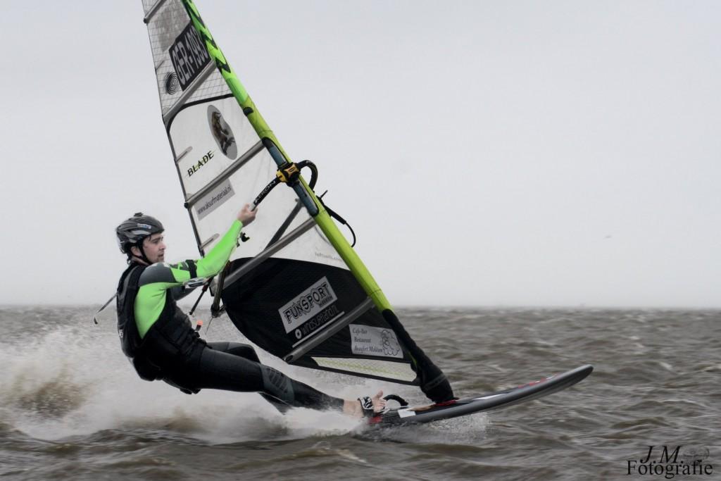 Fabian Blanke sailing